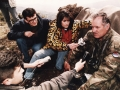 Interviewing Ratko Mladic during the siege of Gorazde,1994