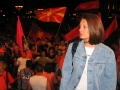 Reporting from Skopje during the electoral campaign of 2006