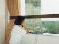 Reporting from Belgrade via satellite phone during NATO's air campaign, 1999