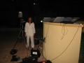 Live broadcast via videophone from Riyadh Diplomatic Quarter, Saudi Arabia, 2006