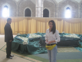 At Hafez Assad mausoleum in Qardaha, Syria, 2010