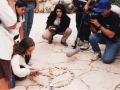Covering the assassination of PM Rabin, Jerusalem, 1995