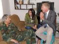 Interviewing slain General Abdel Fattah Younis, Benghazi, Libya, 2011