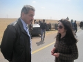 Reporting from Ajdabiya, Libya during the war of 2011