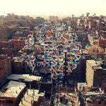 Γκράφιτι-μήνυμα σε 50 κτίρια στην «πόλη των σκουπιδιών»