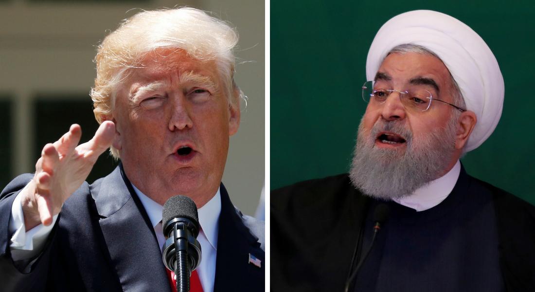 Τραμπ Ροχανί Ιράν