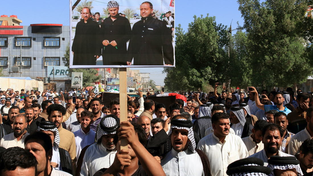 θύματα του ISIS στην Καρμπάλα
