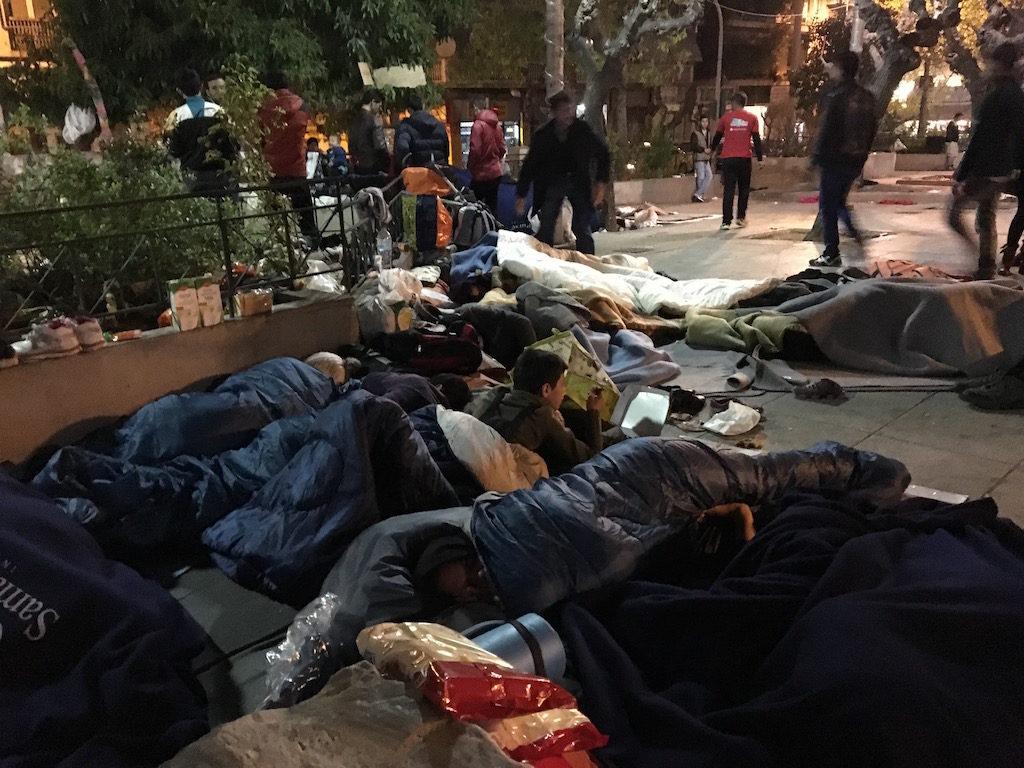 πρόσφυγες Αθήνα