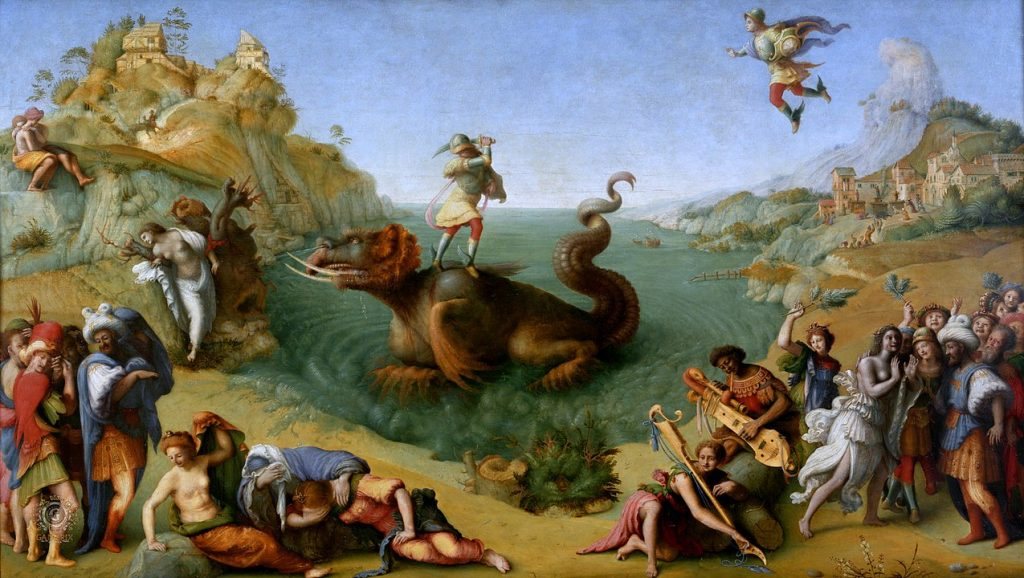 Ο Περσέας ελευθερώνει την Ανδρομέδα - Piero di Cosimo