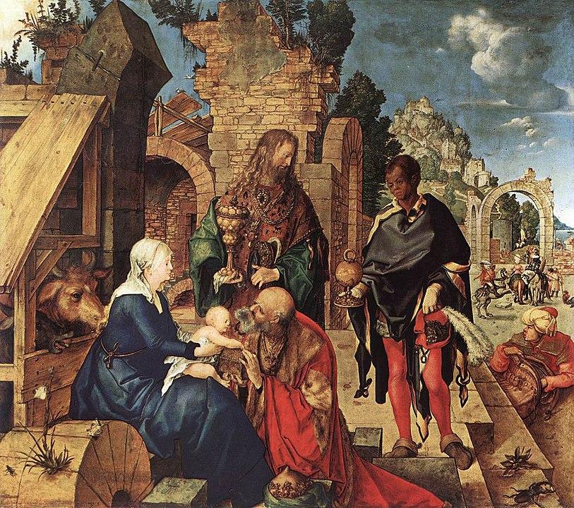 Η λατρεία των Μάγων - Albrecht Dürer