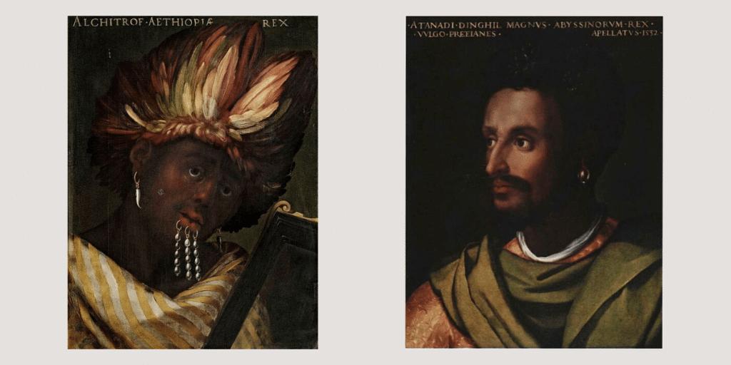 Βασιλείς της Αιθιοπίας και της Αβησσυνίας-Cristofano dell'Altissimo